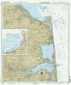 Historische Seekarte 12216–03–1994: De, Cape Henlopen State Park zu indischen Fluss Einlass Jahr 1994von oceangrafix (Oceangrafix Cape)