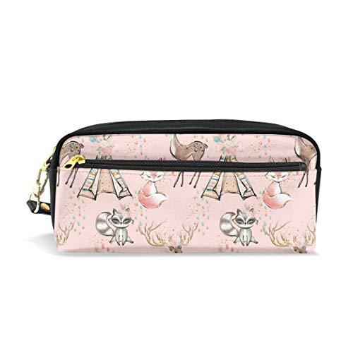 Glitter Pink Boho- Minky Child Size Blanket_159 Sacchetti cosmetici Astuccio portatile da viaggio Trucco Organizer Borse multifunzione per le donne