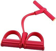 Boomersun Buiktrainer, weerstandsbanden sit-up expander, elastisch trekkoord trainingsapparaat, multifunctionele...