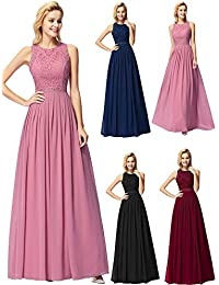 53d6fbb3056 Ever-Pretty Robe de Soirée Femme Longue Robe de Bal Cérémonie ...