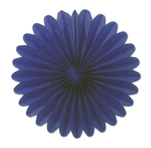 Beistle 54137-B 6-Inch Tissue Fans, Mini by Beistle