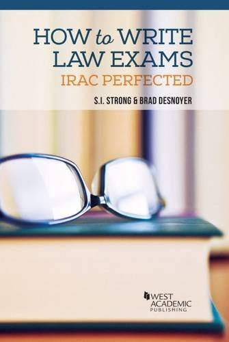 How to Write Law Exams (Career Guides) by S. I. Strong (2015-11-03)