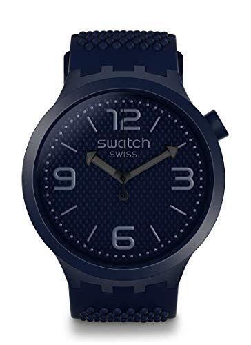 Swatch Orologio Analogico Quarzo Uomo con Cinturino in Silicone SO27N100