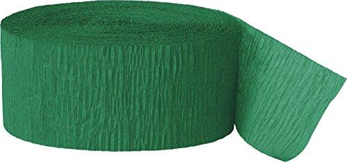 Unique 6357 Decoration Party-Deko, Papier, smaragdgrün (Papier Streamer Ideen)