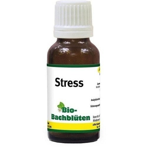 BIO BACHBLÜTEN Stress Tropfen f.Hund/Katze/ 20 ml