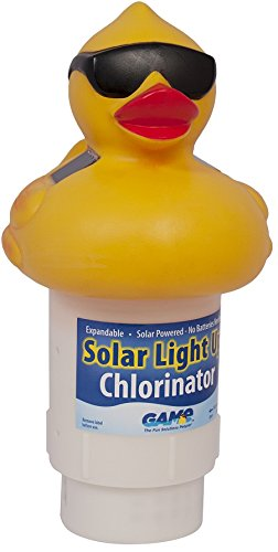 game-8002-solar-light-up-duck-pool-chlorinator-garden-lawn-supply-maintenance