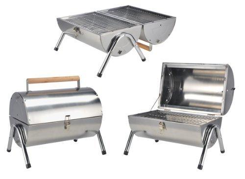 Grille en acier inoxydable tonne - Barbecue pied pliables idéal pour voyager! - Barbecue au charbon disponibles comme un gril de table