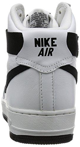 Air Force 1 Hi Retro Qs, vertice Bianco / Lupo grigio, 8 M Us Blanco / Black  (Summit White/Black)