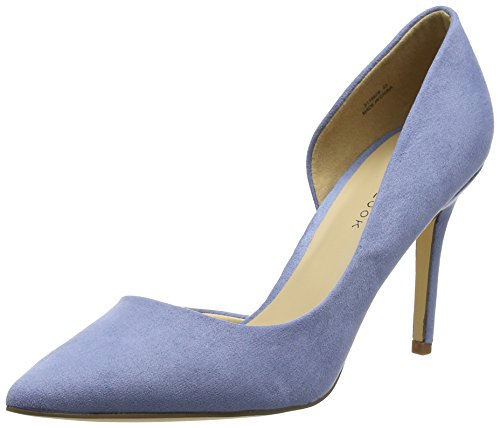 New Look Damen Slide Pumps Blau (Light Blue)