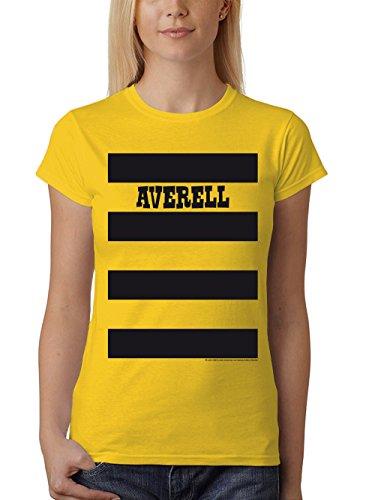 Gruppe Eine Kostüm - clothinx Damen T-Shirt Unisex Lucky Luke Karneval 2019 Die Daltons Gruppen-Kostüm Gelb/Averell Größe XXL