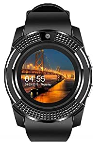 Styleflix Smartwatch in Build Camera Supporting 3G/4G Sim for Phone Like Samsung; Xiaomi Mi; Oppo; ViVo; Moto; HTC; Lenovo