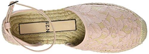 Unbekannt 8799, Espadrilles femme Rose - Pink (CIPRIA+NUDE)