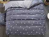 PENVEAT 1 STÜCKE Bettbezug 220 * 240 Bettwäsche Quilt Decke Tröster Abdeckung Druck Einzel Doppel Königin König Maßgeschneiderte 140 * 200 cm Nordic, Farbe 14,155x215 cm