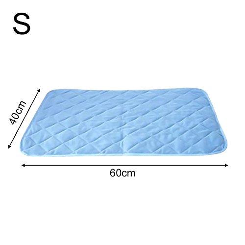 fiveschoice Farbe Kühlung Viskose Faser Summer Pet Cooling Pad Cool Gel Matte Bett Pad für Hunde Katzen