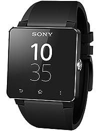 Sony SmartWatch 2 Montre connectée Bluetooth 3.0 / NFC pour Smartphone - Bracelet en Silicone Noir