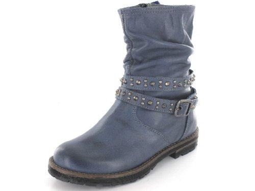 Chérie 2703 bleu Mädchen Stiefeletten in Mittel Blau