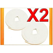 DRAUGHT EXCLUDER TAPE SEAL. WINDOW. DOOR. SEALANT. 2 PACK. NEW. FOAM. SIMPLE.
