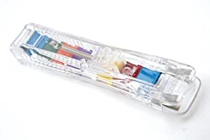 Rapesco distributeur supaclip 40 transparent 25 pinces for Distributeur fourniture bureau