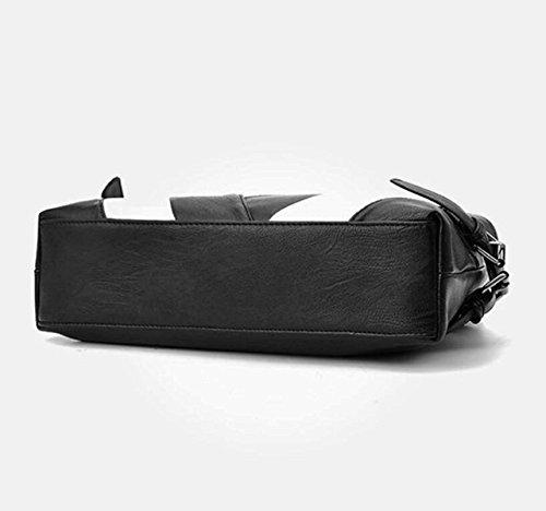 Damen Handtasche Umhängetasche Einfache Air Handtasche Schultertasche Große Kapazität Multifunktions-Handtasche Elegante Nähte,F D