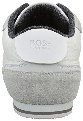 Boss Green Lighter_lowp_cvc 10197554 01, Sneakers Basses Homme Blanc (White 100)