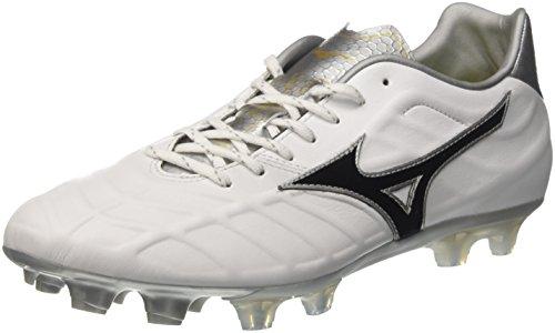 Mizuno Rebula V2, Zapatillas de Running para Hombre, Multicolor (White/Black/Silver 09), 44 EU