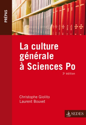 La culture générale à Sciences Po (Hors collection)
