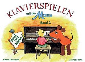 er Maus Band 2 mit Bleistift - Spiel mit Noten - die Fortsetzung der kindgerechten Klavierschule für Einzel- und Gruppenunterricht ab 6 Jahren - Noten/sheet music ()