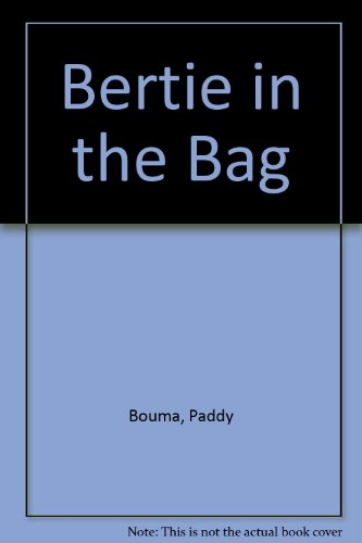Bertie in the bag.