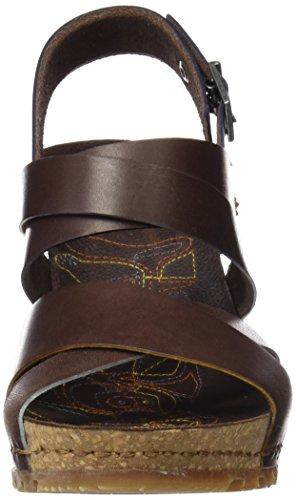 Art 1331 Mojave Güell, Sandales Bout Ouvert Femme Marron (Brown)