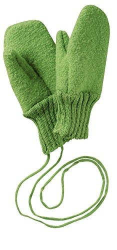 disana Walk Guantes de lana virgen KBT verde