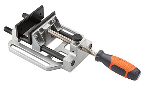 Clamp Edge-tool Guide (Bora Drill Press Vise Bora 551027 - The Sturdy, Quick Release Clamp that Attaches to Your Drill Press Table and Holds Your Material Fast for Easy Drilling by Bora)