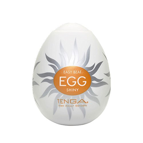 Tenga Egg Einweg-Masturbationsei Shiny, Hard Boiled