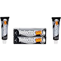 Refectocil Twin Pack Black Tiefschwarz Cream Hair Dye, , 15ml X 2 by RefectoCil