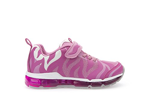 Geox - J Android Girl B, Sneaker Bambina Multicolore (Multicolor (Fuchsia / Pink))