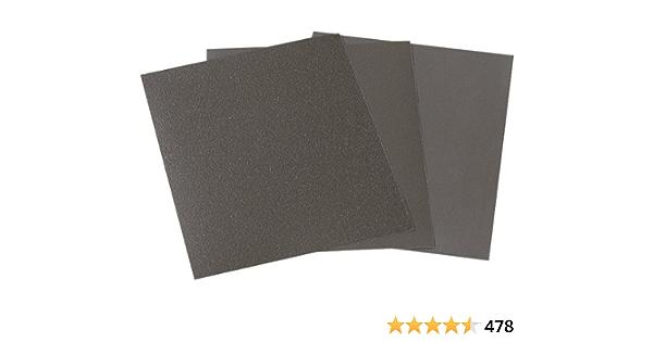 10 Lots de verre Arc étanche 240k 230x280mm Eau Papier Abrasif Mouillé