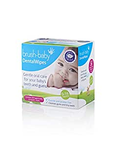 Brush-Baby Lingettes Dentaires, 28s