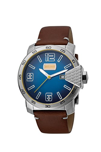 Just Cavalli ROCK Blod XXL Men's D.Blue Watch