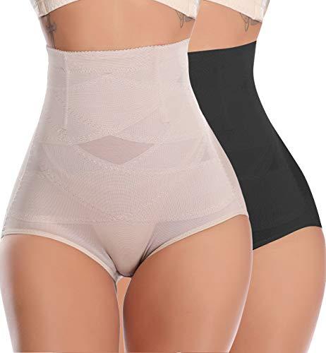 SLIMBELLE Cintura Alta Faja Braguitas Modeladoras Reductora Bragas Ropa Interior Levanta Gluteos Vientre Plano Moldeadores para Mujer