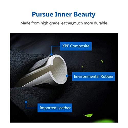 4 Stili tra Cui Scegliere Universale Diametro 36-42CM Coprivolante in Microfibra Pelle Morbida Sport Respirabile Antiscivolo Maniglia Copertina Decorativa Coprivolante