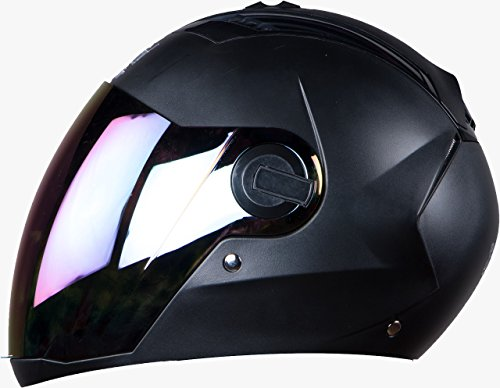 Steelbird Sba 2 Full Face Helmet ( Mat Black) With Extra Visior (600)