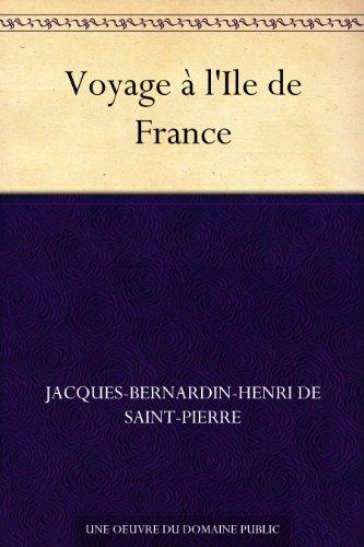 Couverture du livre Voyage à l'Ile de France
