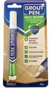 Grout Pen White - Revives & Restores tired GROUT