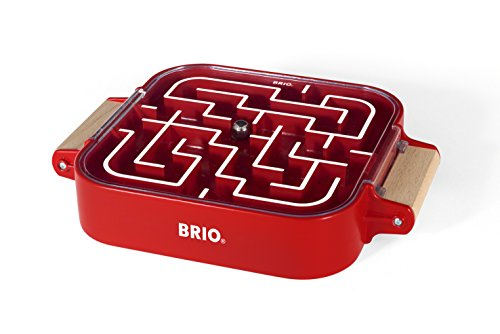 BRIO Take-Along Labyrinth, Red