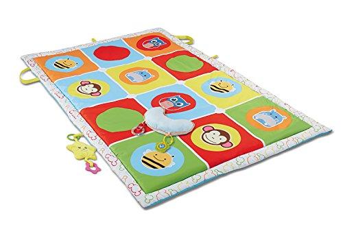 Haehne Bebé Gran Actividad Alfombras de Juego , Niños Rastreo Juguete Educativo Juegos De Aprendizaje Del Niño Soft Padded, 145 X 90cm