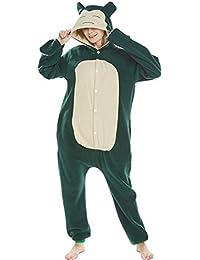 SALICEHB Karte Als Tier Tier Cartoon Verbunden Pyjamas Fleece Langärmelige Paar Pyjamas Herbst Und Winter Home Service