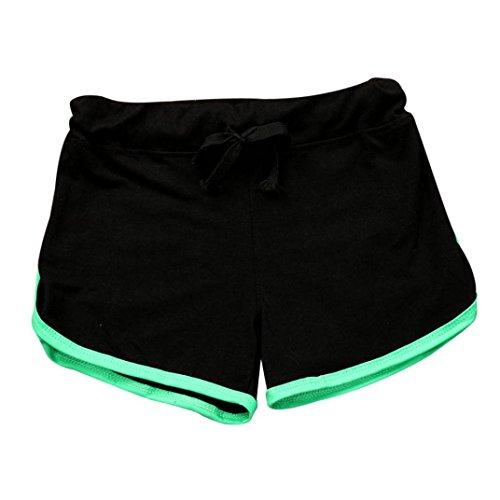 LMMVP-Leggings Womens Shorts Gym Workout Sport Shorts Summer Shorts Elastic Waist Skinny Yoga Pants