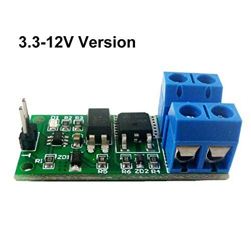 24v Single (iBaste LED-Relais 3.3V-24V 8A Isolation Flip-Flop Latch Switch Module Bistable single button LED Relay Solenoid valve)