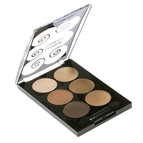 PALETTE DE MAQUILLAGE DÉGRADÉ 6 TONS degradé de marron + 1 PINCEAU PERFECT MAKE UP