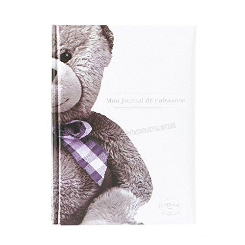 Mon journal de naissance ourson - Domiva
