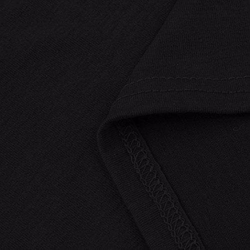 2017 Longue Robe Manches courtes avec poche Femme Longra Chic Droite Fluide Robe portefeuille de Soirée Fete Rétro ÉlégantCocktail Pas Cher été Automne Tunique Jupes Noir